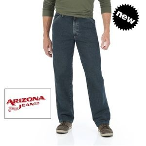🌟  ARIZONA Loose Straight Denim Pants 36x30